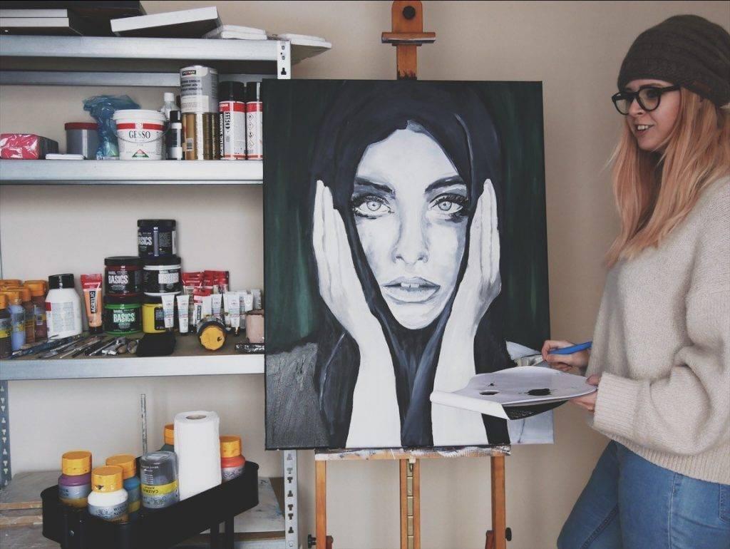 schilderen met NAH