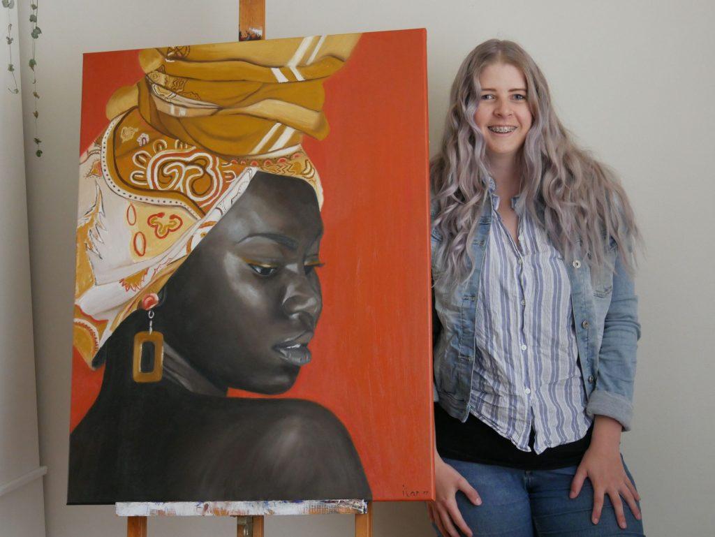 ilana met schilderij, crowdfunding